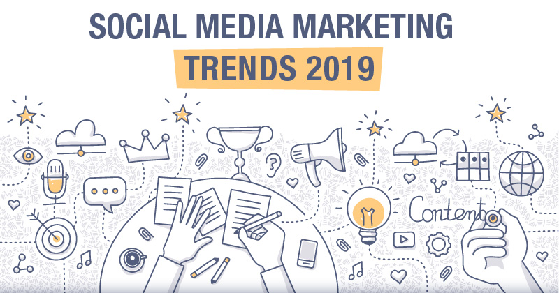 netnomics stellt die Social Media Marketing Trends für 2019 vor.