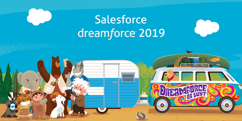 Header Salesforce Dreamforce 2019